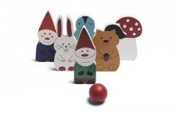 BS toys, drewniane kręgle kraasnoludki