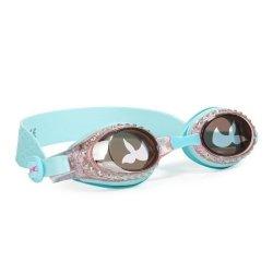 Bling2O, okularki do pływania, turkusowa syrenka, 3+