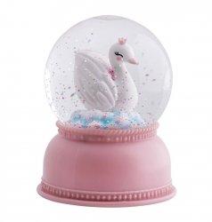 A Little Lovely Company, lampka - kula śnieżna, łąbędź