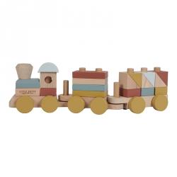 Little Dutch, drewniany pociąg, kol. Pure&Nature