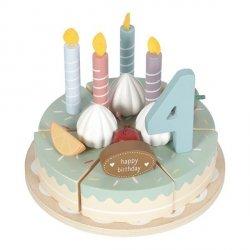 Little Dutch, drewniay torcik urodzinowy