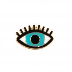 Sass&bell, przypinka do ubrań, oko