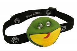 Geo kids, latarka czołowa, wąż