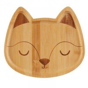 Sass&bell, bambusowy talerz lisek