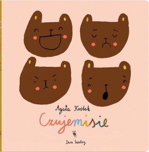 książeczka dla dzieci o uczuciach, Czujemisie