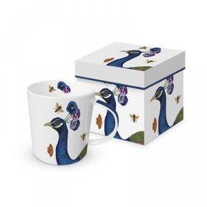 PPD, kubek w prezentowym pudełku paw 350ml
