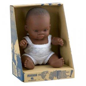 lalka dziewczynka, Afrykanka, 21cm, Miniland