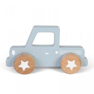 Little Dutch, autko drewniane,pick-up, błękitne,