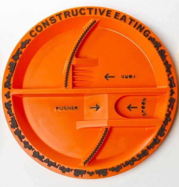 Constructive Eating, koparkowy talerz