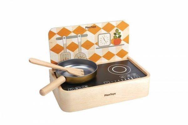 Plan Toys, drewniana mini kuchenka / grill