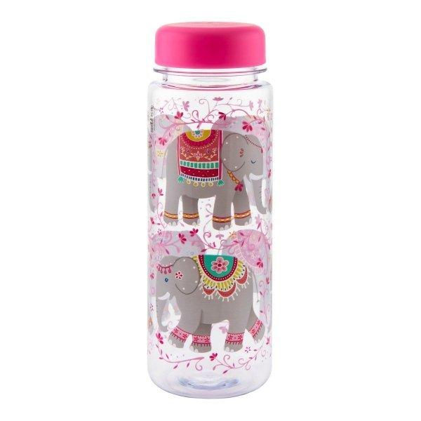 Sass and bell, butelka na wodę, słonie, 550 ml