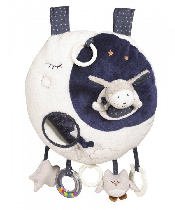 Sauthon, zabawka edukacyjna z pozytywką i światłem LED, Merlin