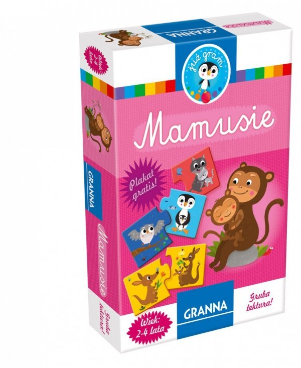 Granna, puzzle 2 elem., Mamusie