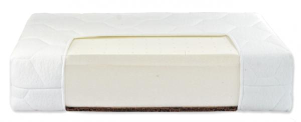 Fiki Miki, materac lateksowo - piankowo - kokosowy, 120x60cm + nakładka higieniczna gratis.