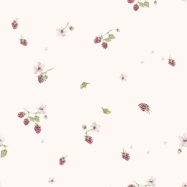 Samiboo, różowa pościel z wypełnieniem, 75x100cm, z uszkami, maliny