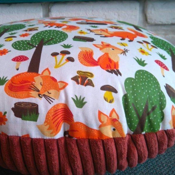 malooni, poduszka do siedzenia, liski