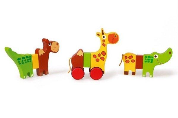 Scratch, magnetyczne zwierzątka safari