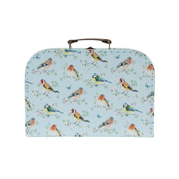 komplet 3 walizeczek - ptaszki