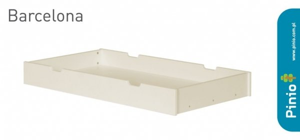 Pinio, szuflada pod łóżeczko 120x60cm, Barcelona