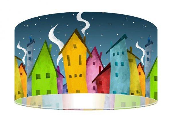 Macodesign, lampa wisząca, bajkowe miasteczko