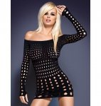 Obsessive Rocker sukienka czarna S/M/L