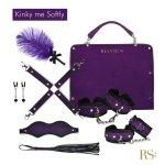 Rianne S Kinky Me Softly - zestaw BDSM (fioletowy)