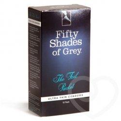 Prezerwatywy (1op./12szt.) Fifty Shades of Grey - The Foil Packet