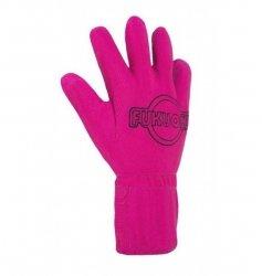 Fukuoku - rękawiczka do masażu S/M (prawa różowa)