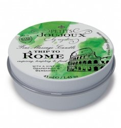 Petits Joujoux Fine Massage Candles - A trip to Rome (33 g)