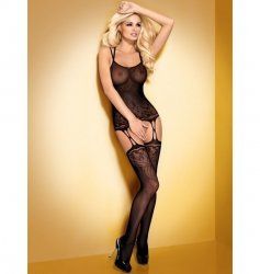 Bodystocking F206 czarne S/M/L