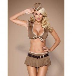 Obsessive 814-CST-4 żołnierka kostium L/XL