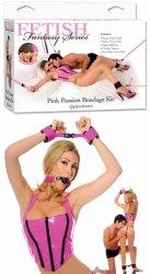 Ff Pink Passion Bondage Kit