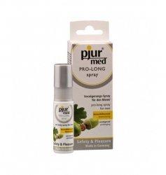 Preparat dla mężczyzn przedłużający stosunek  pjur med PRO-LONG spray 20 ml