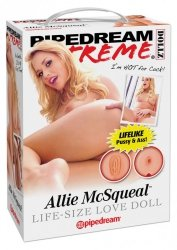 PDX ALLIE MCSQUEAL LOVE DOLL