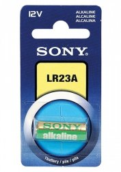 Sony Bat/Alk 12V LR23A (10X)