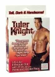 Calex - dmuchana lalka Tyler Knight Love Doll w. Dong
