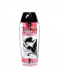 Shunga - Toko Lubricant Cherry 165 ml  lubrykant na bazie wody o smaku wiśniowym