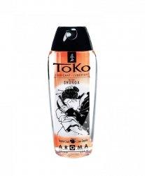 Shunga - Toko Lubricant Tangerine 165 ml - lubrykant na bazie wody o smaku mandarynkowym
