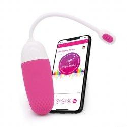Magic Motion Vini - wibrujące jajko z aplikacją (różowo-białe)