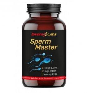 Desire Labs Sperm Master 90 kapsułek na poprawę nasienia