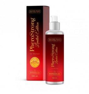 PheroStrong Limited Edition for Women Massage Oil 100ml - olejek do masażu pobudzający zmysły dla kobiet