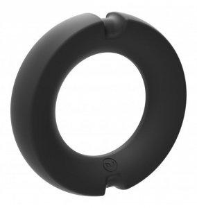 Kink Hybrid Silicone Covered Metal Cock Ring 45mm - pierścień erekcyjny
