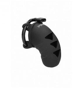 ManCage Model 07 Chastity 3.1'' Silicone - męski pas cnoty (czarny)