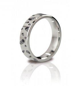 MyStim His Ringness The Duke 51mm- pierścień erekcyjny (grawerowany)