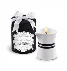 Petits Joujoux Fine Massage Candles A trip to Athens (duża) - świeca do masażu (piżmo i paczula)