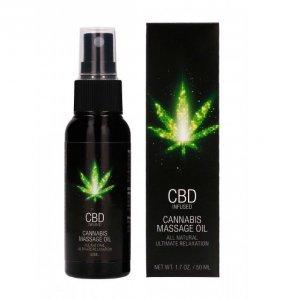 Shots CBD Cannabis Massage Oil 50 ml - olejek do masażu z CBD