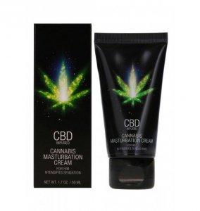 Shots CBD Cannabis Masturbation Cream For Him 50 ml - krem do masturbacji dla mężczyzn