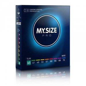 MY.SIZE Pro 45 mm - Prezerwatywy (1op./3szt.)