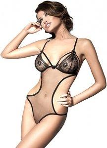 Anais Aisha body L (czarny)
