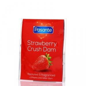 Pasante Strawberry Crush Bulk - Prezerwatywy smakowe (144 szt.)